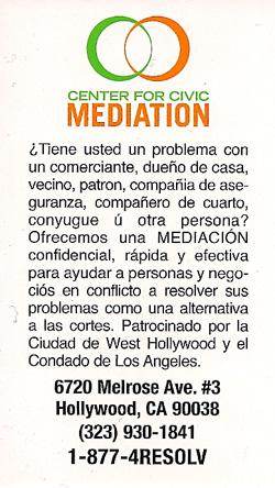 Center for Civic Mediation Mission Hills Neighborhood