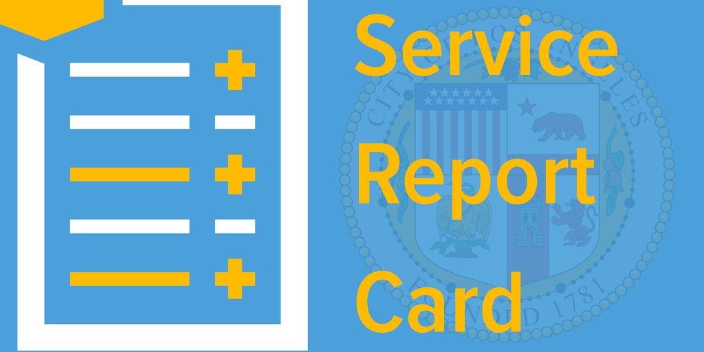 service report card