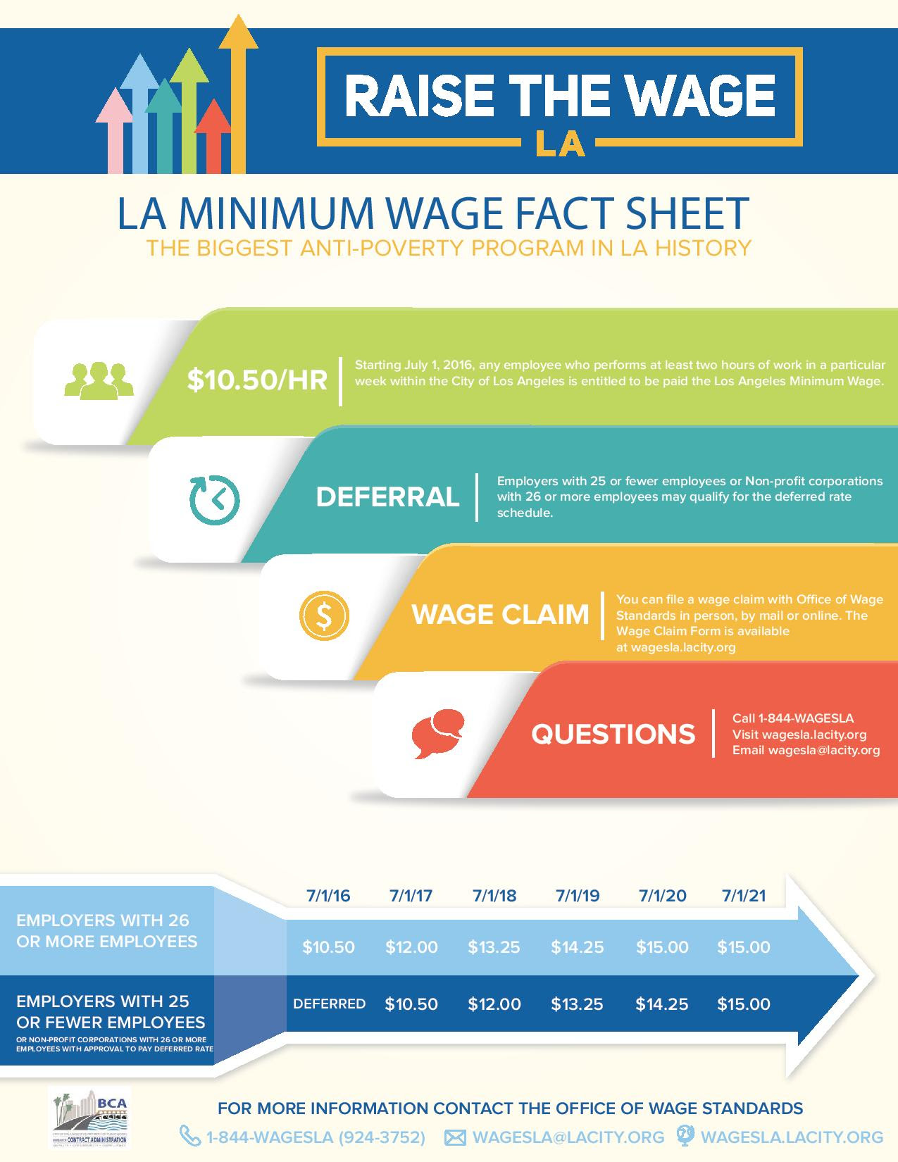 the need for raise on our minimum wage