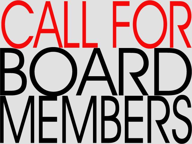 Call for board members