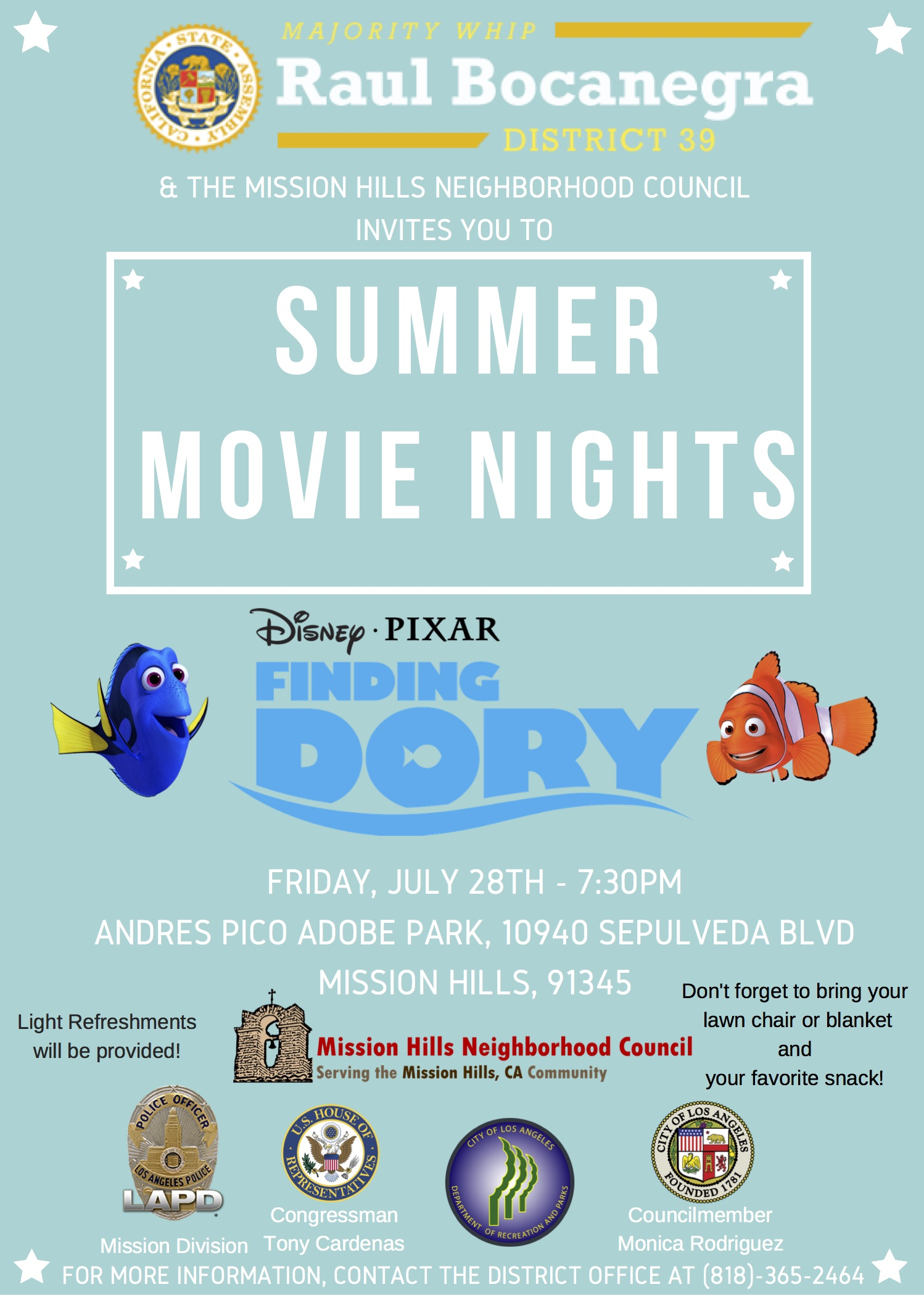 Finding Dory Flyer