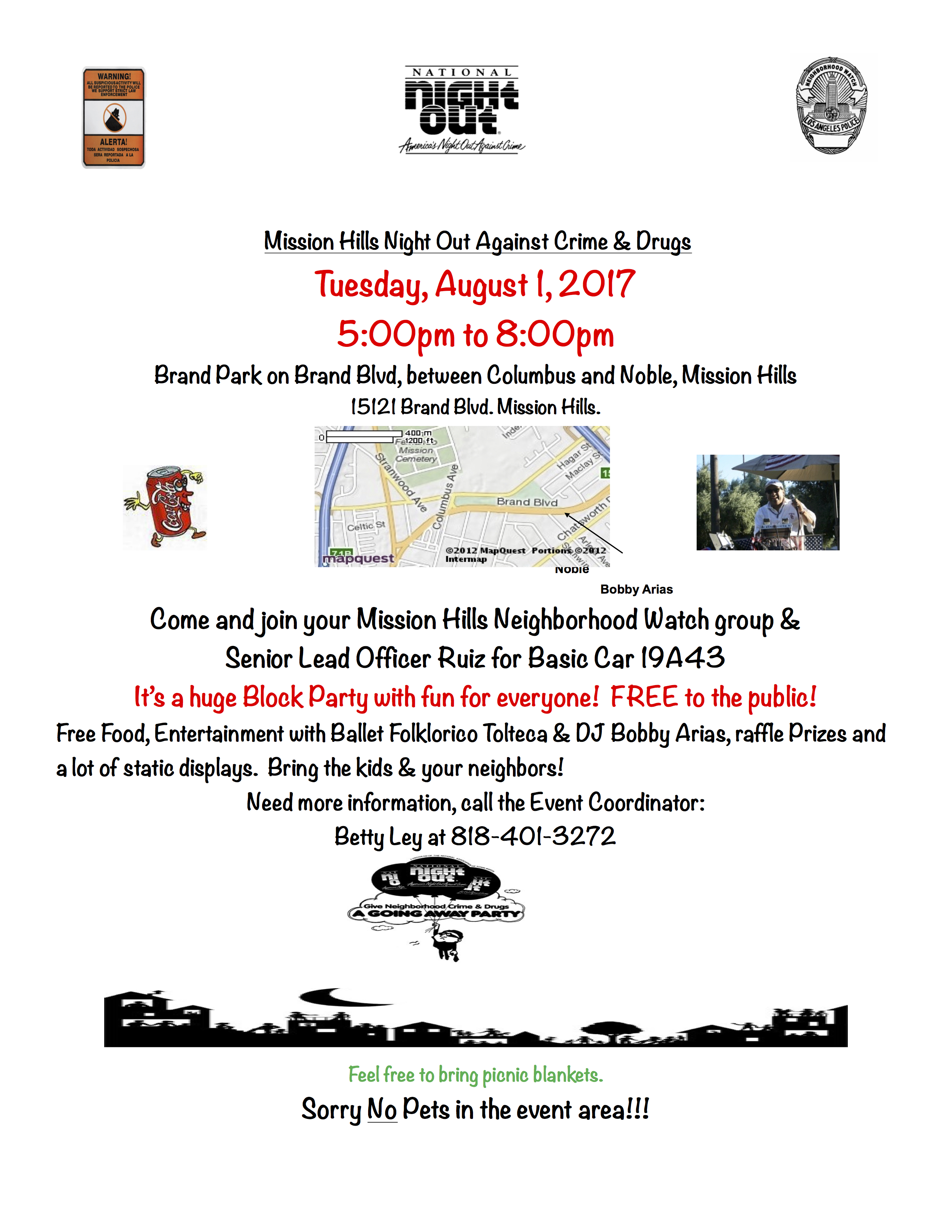 2017 National Night Out Flyer
