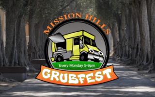 Mission Hills Grubfest logo