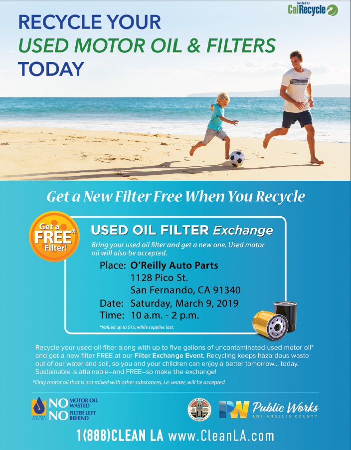 Recycle Oil & Filters