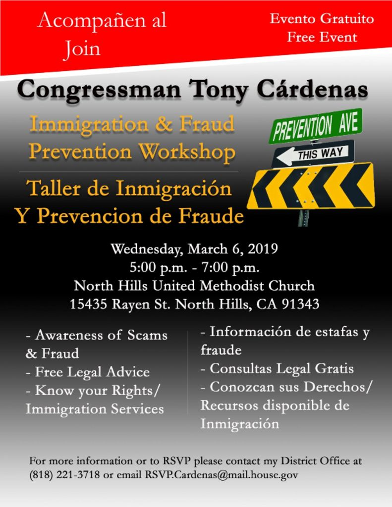 thumbnail of Immigration Workshop flier 2019