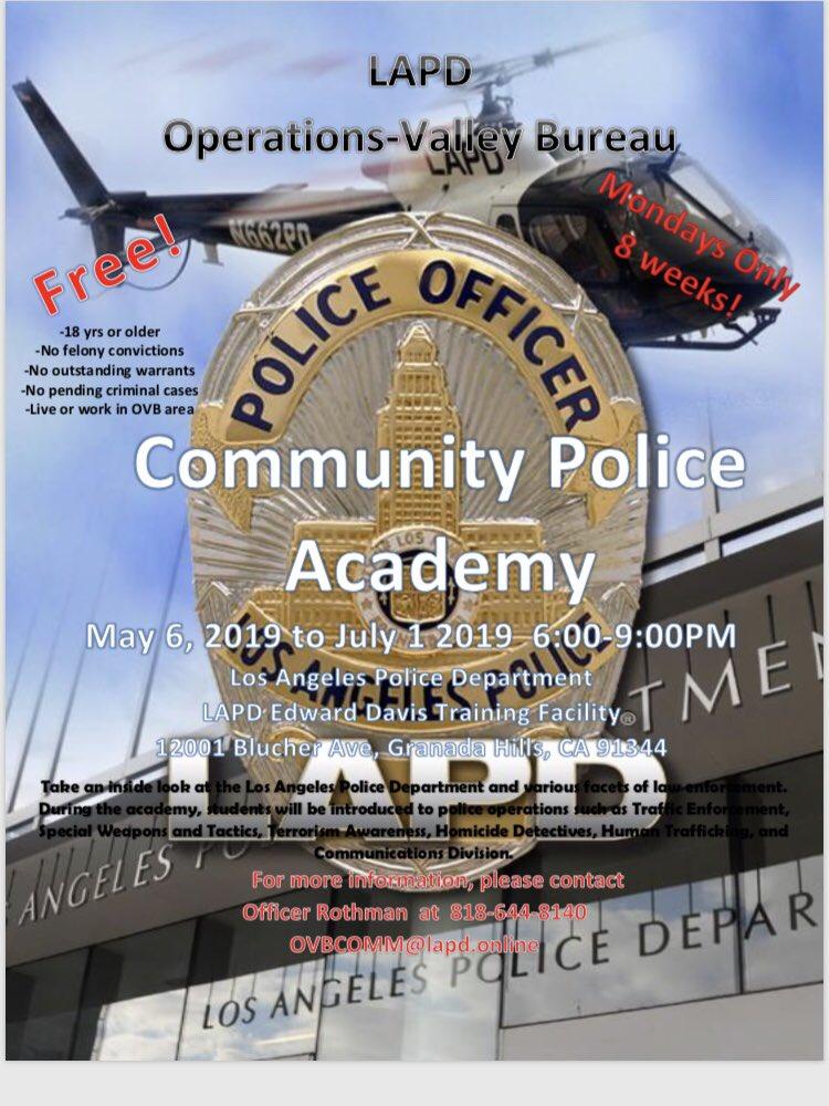 Community Police Academy