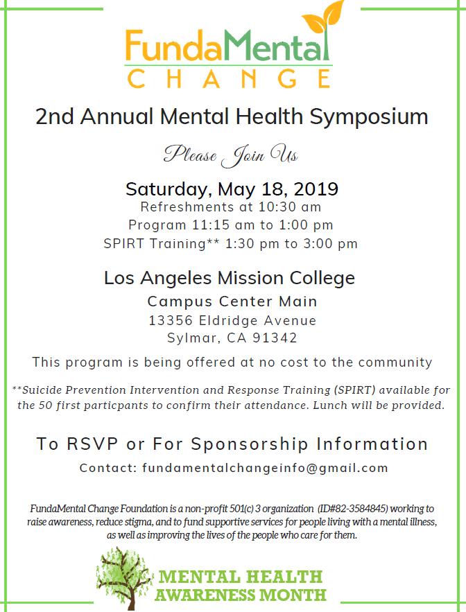 Mental Health Symposium