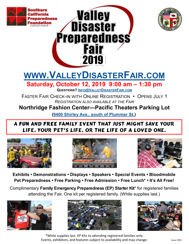 Valley Disaster Preparedness Fair