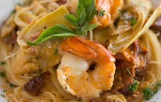 Buon gusto pasta with shrimp