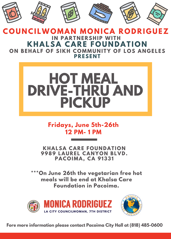 Hot Meal Drive Through