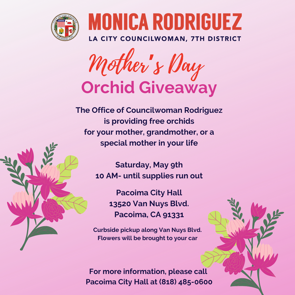 Mother's Day Orchid Giveaway