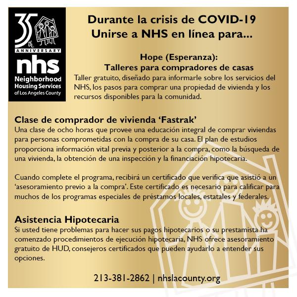 Financial Counseling & Education Spanish