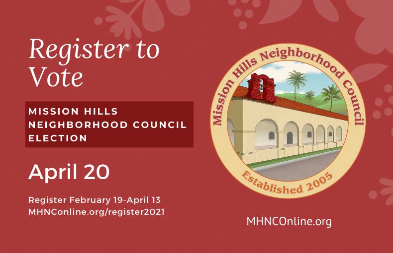 Register to Vote Mission Hills