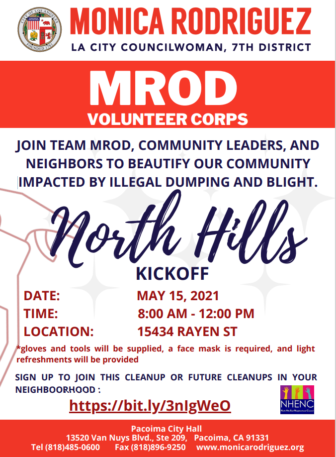 North Hills Clean Up
