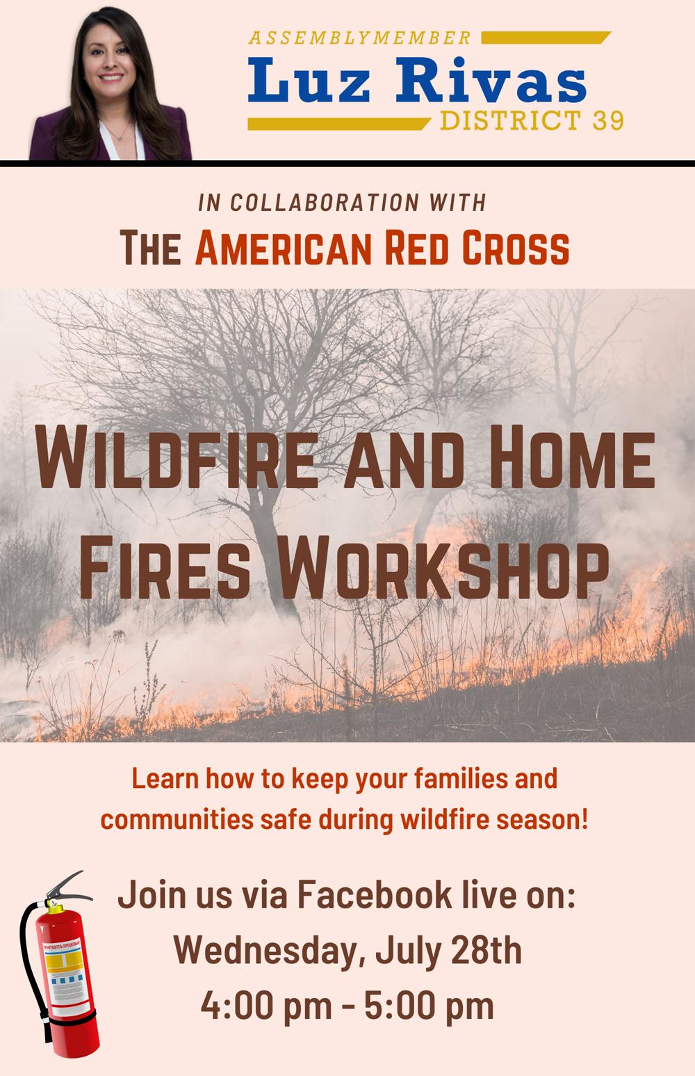 Wildfire safety workshop