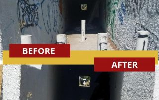 underpass clean up