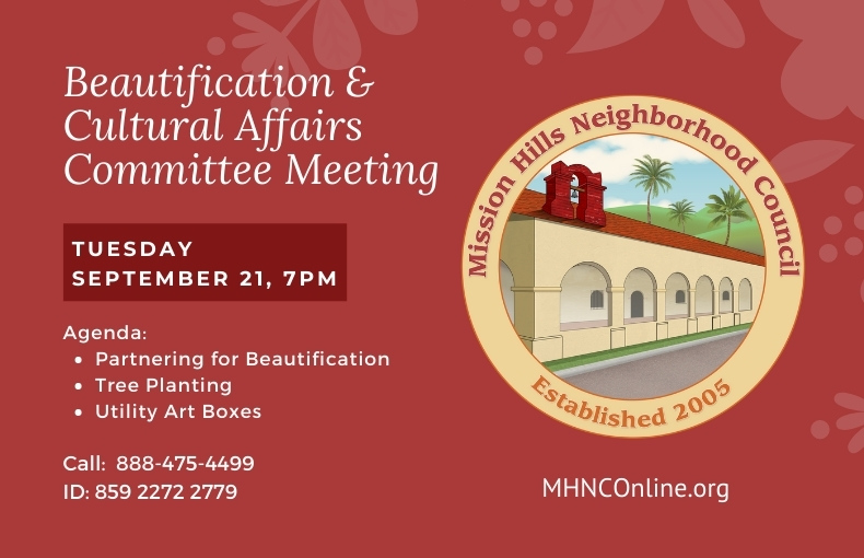 Mission Hills Sep beautification